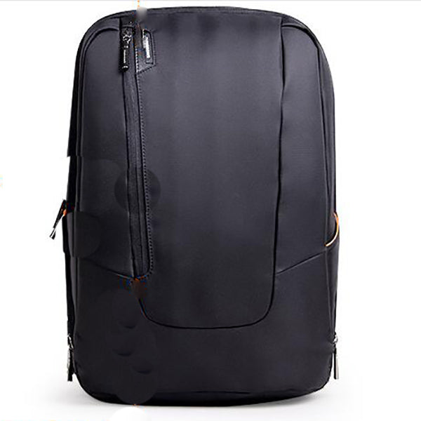 Double Shoulder Bag Double Zipper Can Expand The Capacity Of Computer Backpack For Men