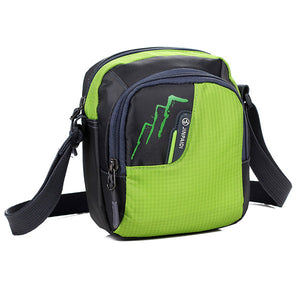 Men'S Single Shoulderc Messenger Bag College Bag Leisure Travel Bag
