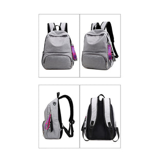 All Matching Daily Solid Color Nylon Backpack