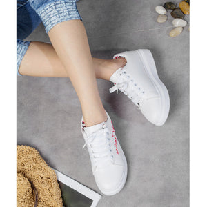 Casual Training Shoes Fashion Letters Embroided Shoes for Women