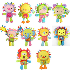 New arrival Baby toy Comforting doll with BB rattles Toys for baby 0-13 years baby play toy Appease dolls