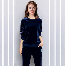 Women Long Sleeve Fashion Casual Sports Sets Winter 2 Pcs Set