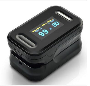 Household Finger Blood Fulse Rate Monitor Fingertip Pulse Oximeter