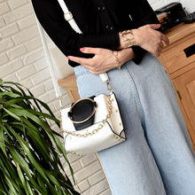 Big Ring Top Solid Color Fashion Casual Chainbag