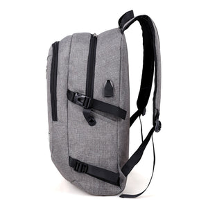 21 inches Big Capacity Backpack with Extenal USB Port