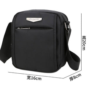 New Men'S Washed Fabrics Small Edition Single Shoulder Bag Of Shoulder Bag Men'S Casual