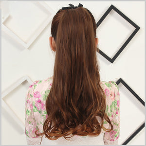 Curly Long Pony Tail Clip-in Hair