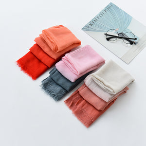 New Edition Of The Colorful Winter Sun Protection Of The Winter Shawl Scarf For Women