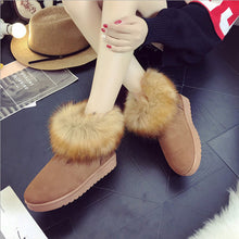 New Comfortable Thick Plush Cotton Boots