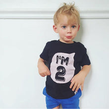 Children Summer T-shirt For Boy Girls 100%cotton Tee Tops Kids Short Sleeves T-shirt Clothing Baby Tshirt Alphanumeric Leisure