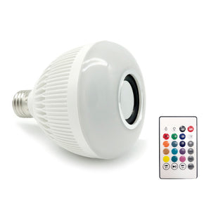 Light Ball Bulb Colorful Lamp Smart Audio Bluetooth