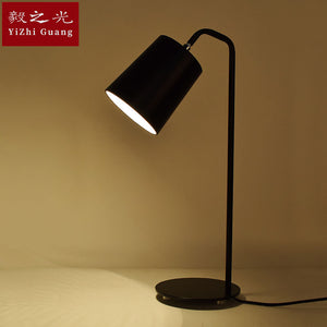 Table Lamps Nordic Study LED Desk Lamp Eyecare Bedroom Bedside Lamp Modern Simple Metal Table Lamp