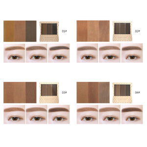ANGEL MASK 3 Colors Eyebrow Powder Palette