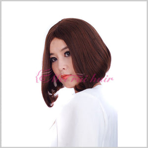 Student Wig Short Female Wave Headdress Short Wigs