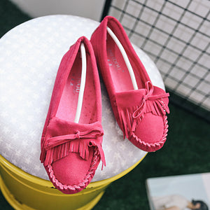 Tassel Soft Matte Flat shoes