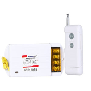 Honest Brand Remote Control Switch 220V High Power Receiver Transmitter ON OFF controller Home office Pump Led Motor Fan