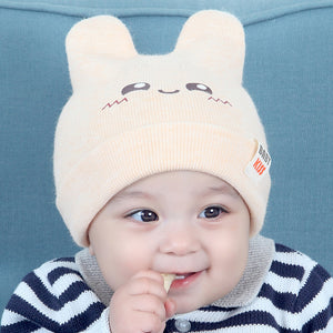 Spring Autumn Pullover Hat For Children'S Knitted Hats