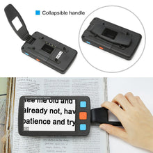 "Low Vision 5"" LCD Handheld Video Magnifier Reading magnifier Aid HD Digital Video Magnifier electronic microscope"