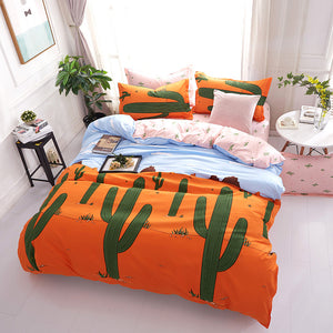 Cactus Pattern Soft and Luxury Beddings Set