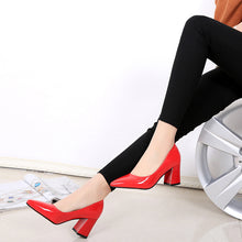Autumn and Winter New Women's High-heeled Shoes