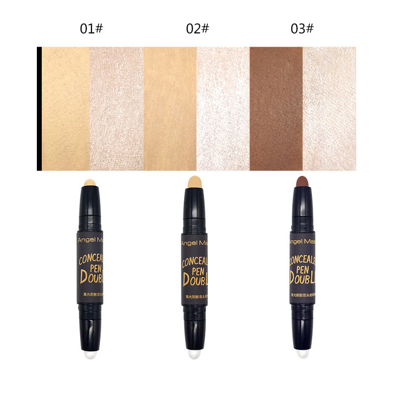 ANGEL MASK Double Ends Dual Color Concealer Stick