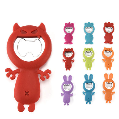 Silicone Bear Opener, Devil Opener Silicone Bunny Opener