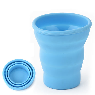 Outdoor Portable Foldable Cup Multifunctional Cup Travel Silicone Folding Cup