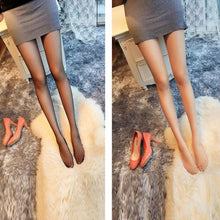Transparent velvet stockings seamless anti-hook stockings pantyhose socks