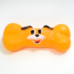 The Dog's Face Bone Sound Cartoon Pet Toy To Make Fun With Pets