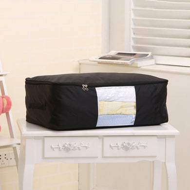 Black Home Storage New Quilts Oxford Cloth Foldable Moisture-Proof Clothes