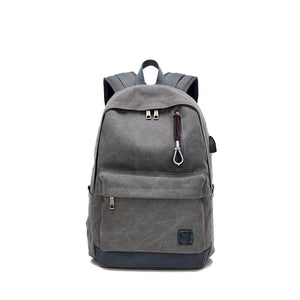 Multiple Functions Big Capacity Canvas Backpack