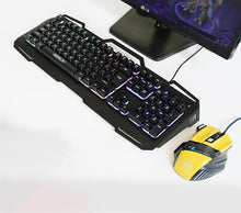 Wired Key Mouse Suit Ak-400 +X7 Game Mouse Hover Key Game Key Mouse Suit