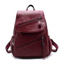 Casual Outdoor Style Big Capacity Solid Color Backpack