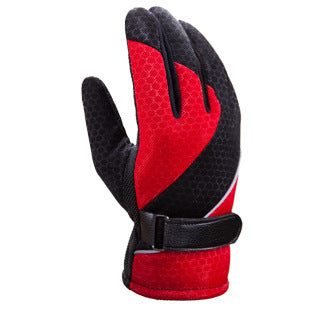 Warm Keeping Skid Resistant and Water Proof Racing Gloves for Men