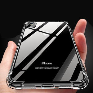 Transparent Soft  Mobile Phones Cases Suitable for iphone