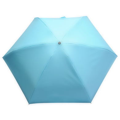 5 Folding Travel Compact Umbrella Windproof Parasol