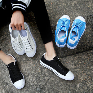 Lace-Up Canvas Shoes For Men's Shoes Fashion Casual Mens Shoes
