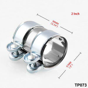 Car Modified Stainless Steel Clamp Exhaust Pipe Exhaust Clip