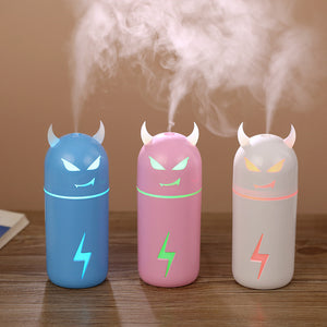 Creative gift Air Humidifier Magic Cow Style Essential Oil Aroma Diffuser with 7 Changing Led Night Light For Office Car Home