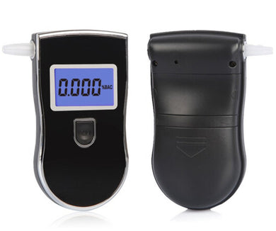 High Precision Alcohol Tester LCD Display Screen Detachable Mouth Piece Digital Breath Alcohol Detector