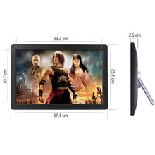 Super Thin Narrow Frame 15.4 Inch  Electronic Frame Digital Photo Frame Advertising Machine