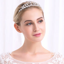 Princess Tiaras and Crowns Austrian Crystal Stone Diadem Birthday Wedding Gifts Heart Love Women Girls Hair Jewelry