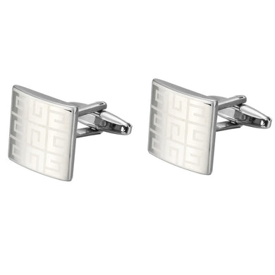 New Laser Cuff links Gentlemen French Shirt Cufflink Gifts Popular Lawyer Gemelos Cuffs