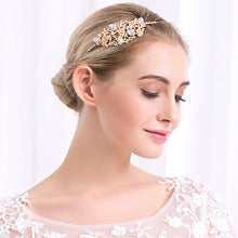 Classic Style Rhinestone Princess Tiaras and Crowns Luxury Gold Color Diadem Wedding Women Hair Jewelry