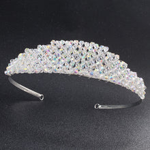 Woman Bride Crowns Wedding Rhinestone Tiaras Fashion Women Headband Charms Crystal Hair Accessories Head Rim for Hair