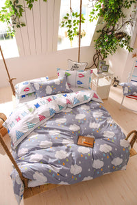 Clouds Pattern Soft and Luxury Beddings Set