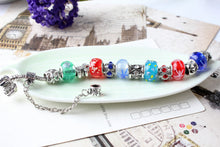 Colorful Beads Alloy Bracelet Chain