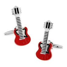 Guita Designed Rock N Roll Cuff Links