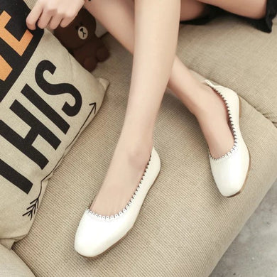 Easy Chic Base Flat Pump Shoes