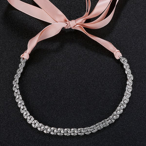 Fashion Handmade Wedding Hair Band for Wedding New Style Bridal Headband Crystal Bridal Hair Accessories Head Jewelry